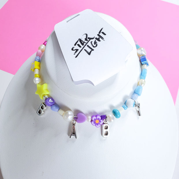Baby Colorful Beads choker Starlight