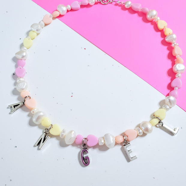 Angel Pastel Pearl choker Starlight