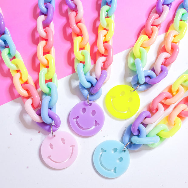 Smiley Face Choker Starlight