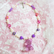 Teddy Necklace Starlight