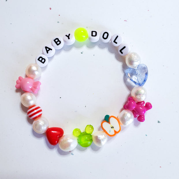 Customizable Pearly Bracelet Starlight