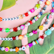 Customizable Name Pearl Necklace