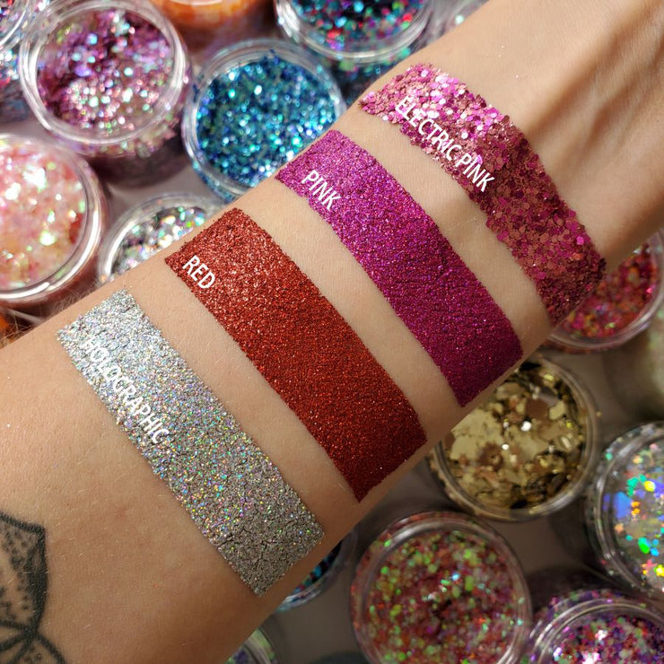 Red Ultra Fine Glitter Pigment - Starlight