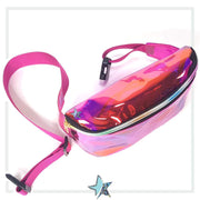 Pink Clear Fanny Pack