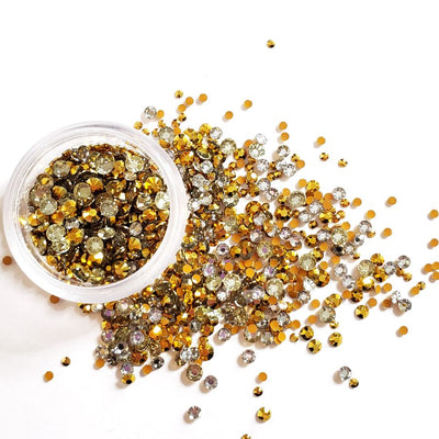 Gold Loose Rhinestones - Starlight