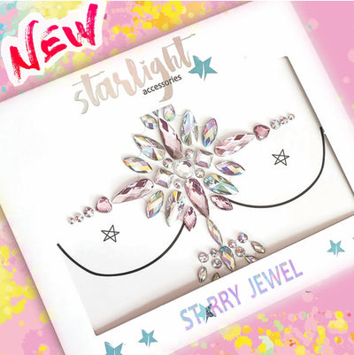 Unicorn Pink Body Jewel - Starlight