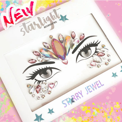Unicorn Pink Face Jewel - Starlight