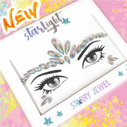 Iridescence Face Jewel - Starlight