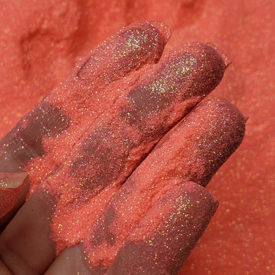 Coral fine glitter powder  - Starlight