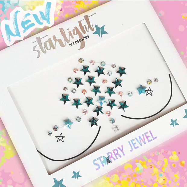 Blue Star Body Jewel - Starlight