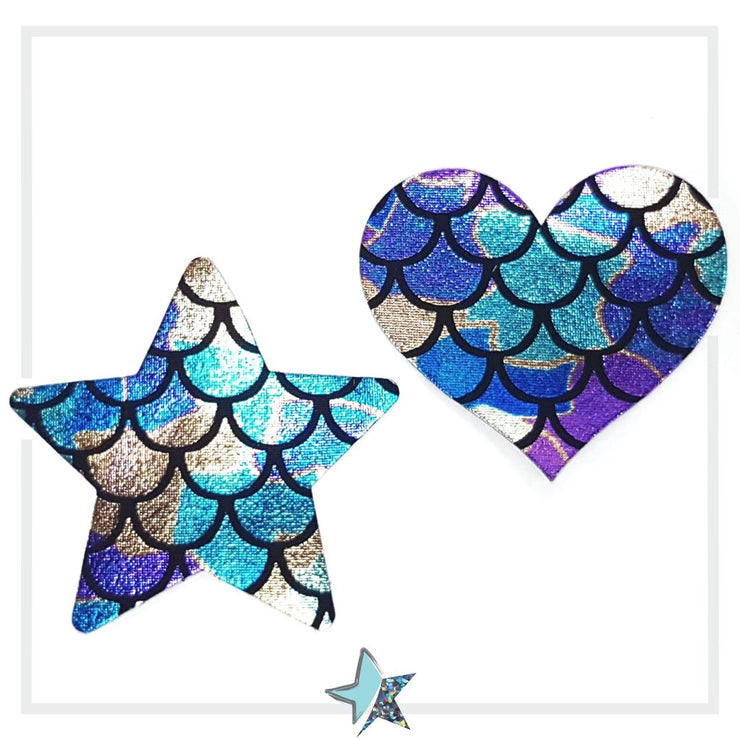 Mermaid Heart Pasties