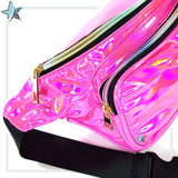 Holographic Pink Fanny Pack - Starlight