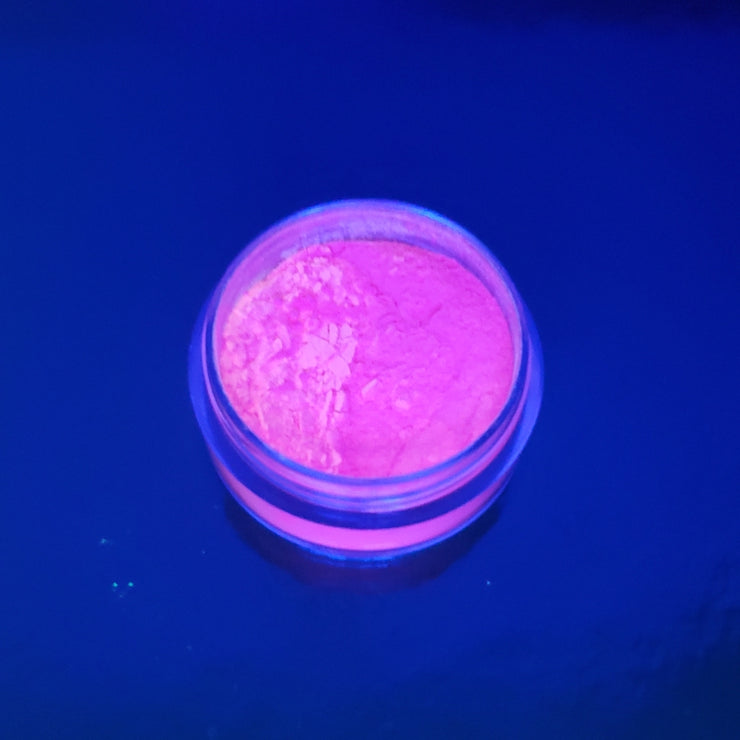 Pink Neon pigment GLOW UNDER BLACK LIGHT - Starlight