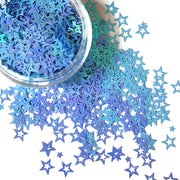Blue Star Glitter - Starlight