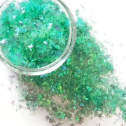 Aquamarine Glitter Flakes - Starlight
