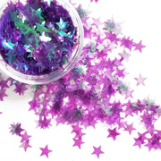 Purple Star Glitter - Starlight