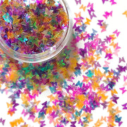 Rainbow Butterfly Glitter - Starlight