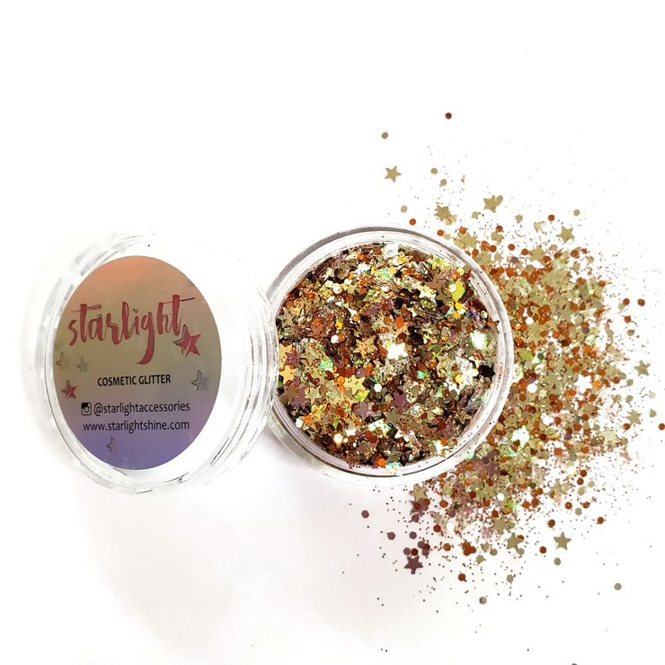 Gypsy Gold Chunky Glitter - Starlight