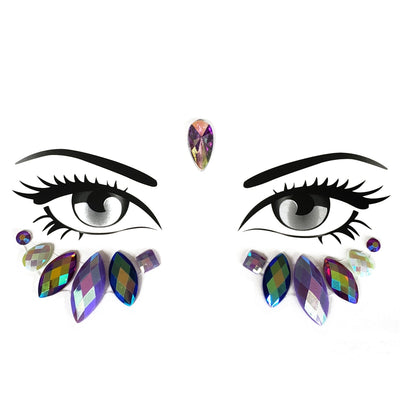 Cosmic Eye Face Jewel - Starlight