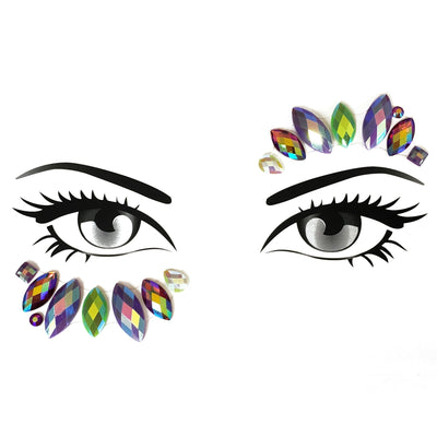 Hypnotizing Eye Face Jewel - Starlight