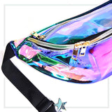 Clear Iridescent Fanny Pack