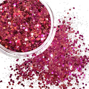 Electric Pink Chunky Glitter - Starlight