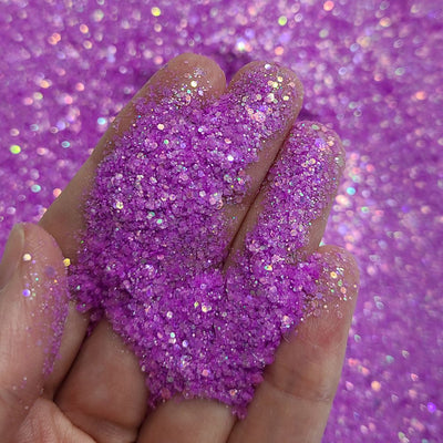 Orchid Chunky Glitter - Starlight