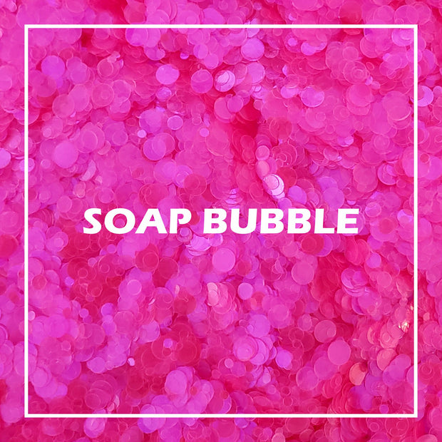 Soap Bubble Glitter UV Reactive - Starlight