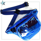 Clear Blue Fanny Pack