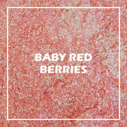 Baby Red Berries Chunky Glitter - Starlight