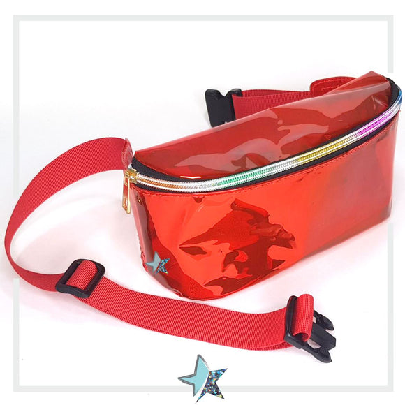 CLEAR FANNY PACK WOMAM