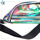 Fantasy Clear Iridescent Fanny Pack - Starlight