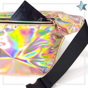 Holographic Champagne Fanny Pack - Starlight