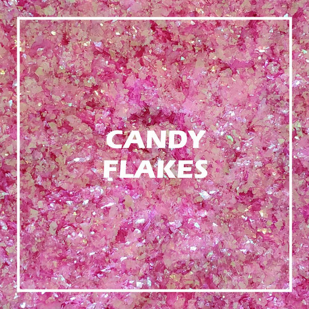 Candy Glitter Flakes - Starlight