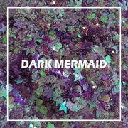 Dark Mermaid Chunky Glitter - Starlight
