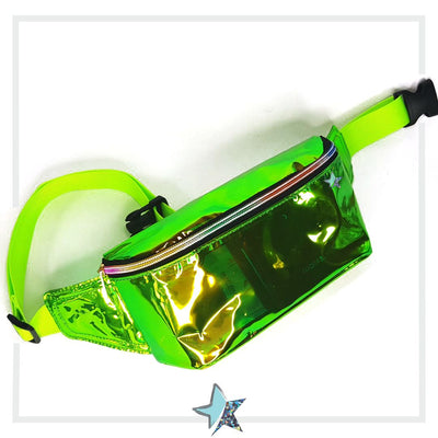 Green Clear Fanny Pack