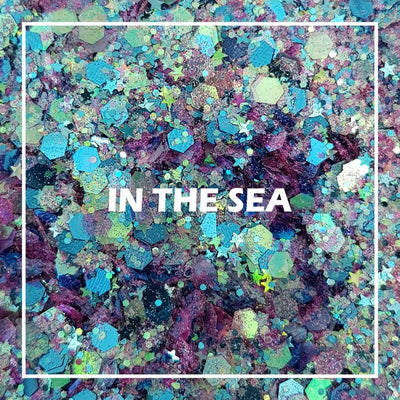 In the Sea Chunky Glitter - Starlight