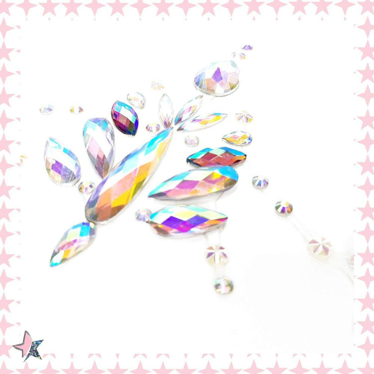 Crystal Holographic Jewels