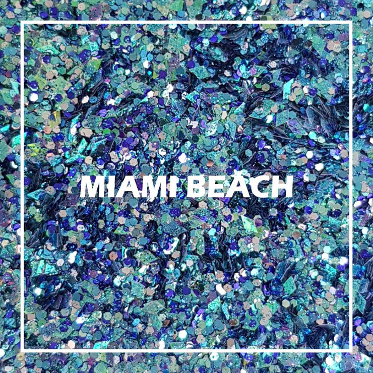 Miami Beach Chunky Glitter - Starlight