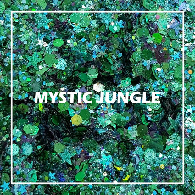 Mystic Jungle Chunky Glitter - Starlight