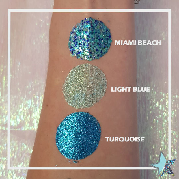 Light Blue powder Glitter - Starlight