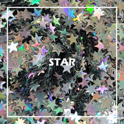 Star Holographic Glitter
