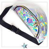 Cosmic Silver Holographic Fanny Pack - Starlight