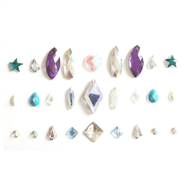 Mix Gems Face & Body Sticker - Starlight