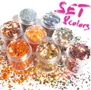 California Chunky Glitter Set - Starlight