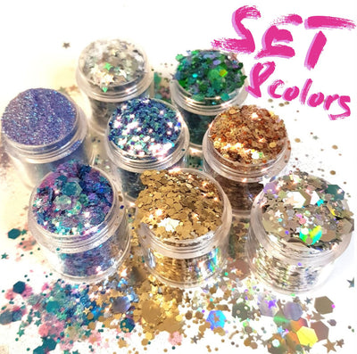 Your Dream Chunky Glitter Set - Starlight