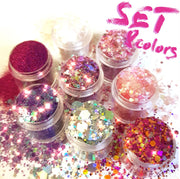 Sweet Chunky Glitter Set - Starlight