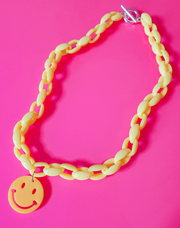 Happy Face Choker Starlight