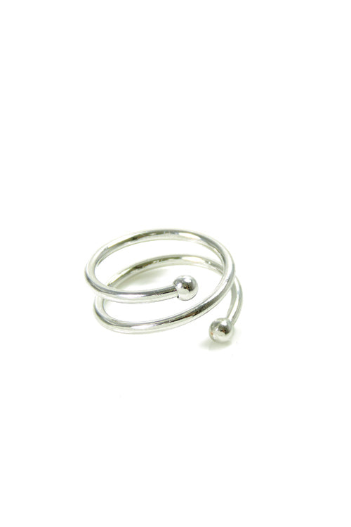Double Coil Midi Ring