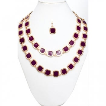 Carolyn Necklace and Earring Set